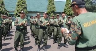 LDII Jabar dan Banten bekerjasama dengan Rindam lll/Siliwangi gelar Diklat Bela Negara dan Wawasan Kebangsaan selama tiga hari, (23-25/4/2016)